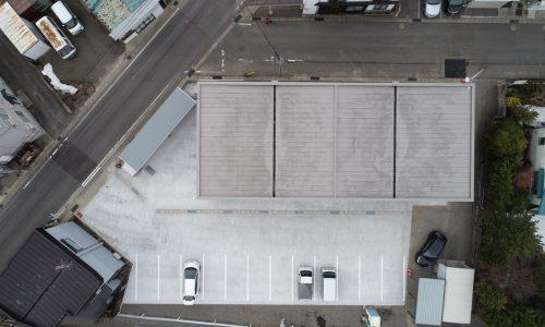 上空から見た敷地