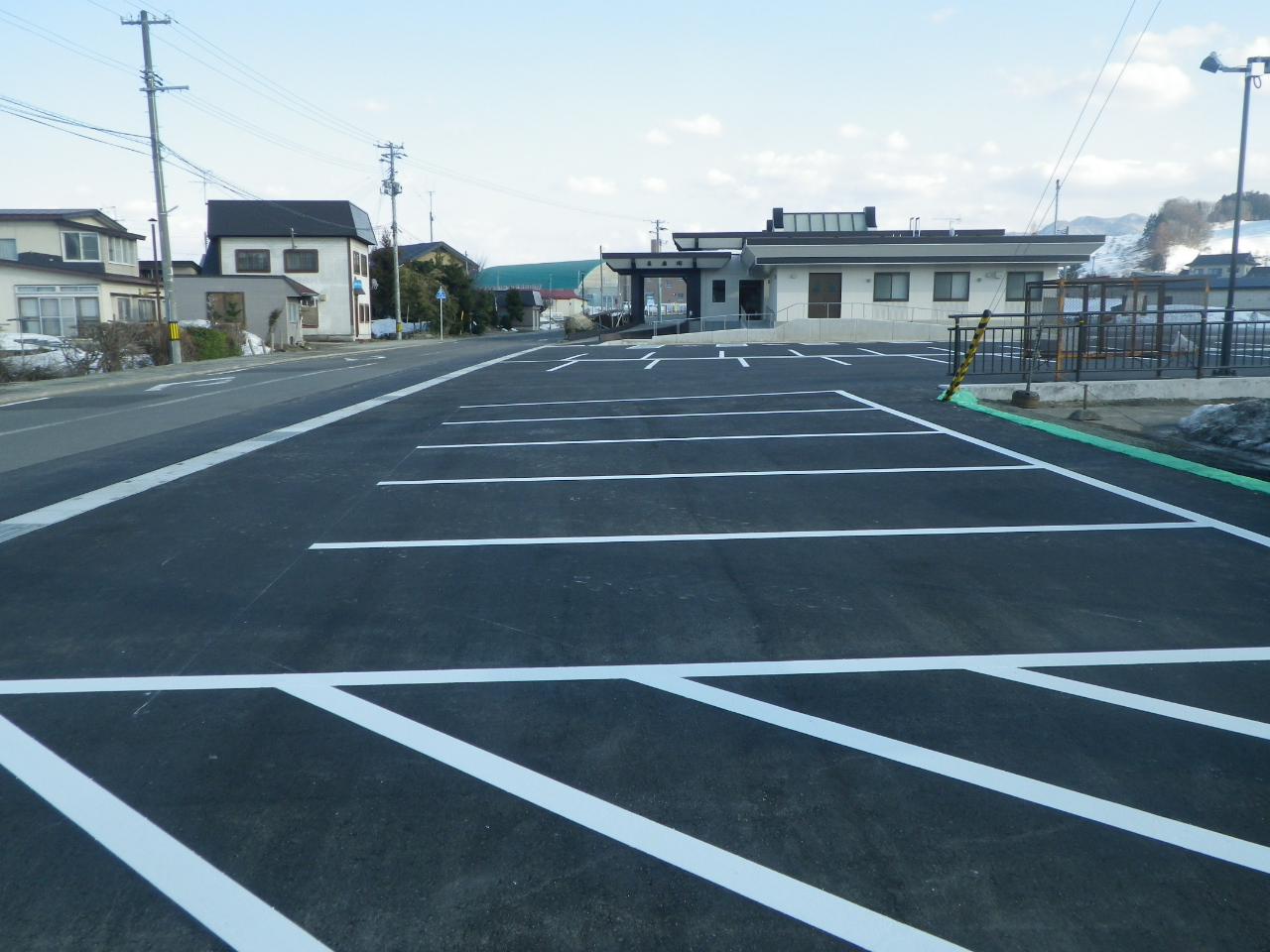 長慶閣駐車場整備工事