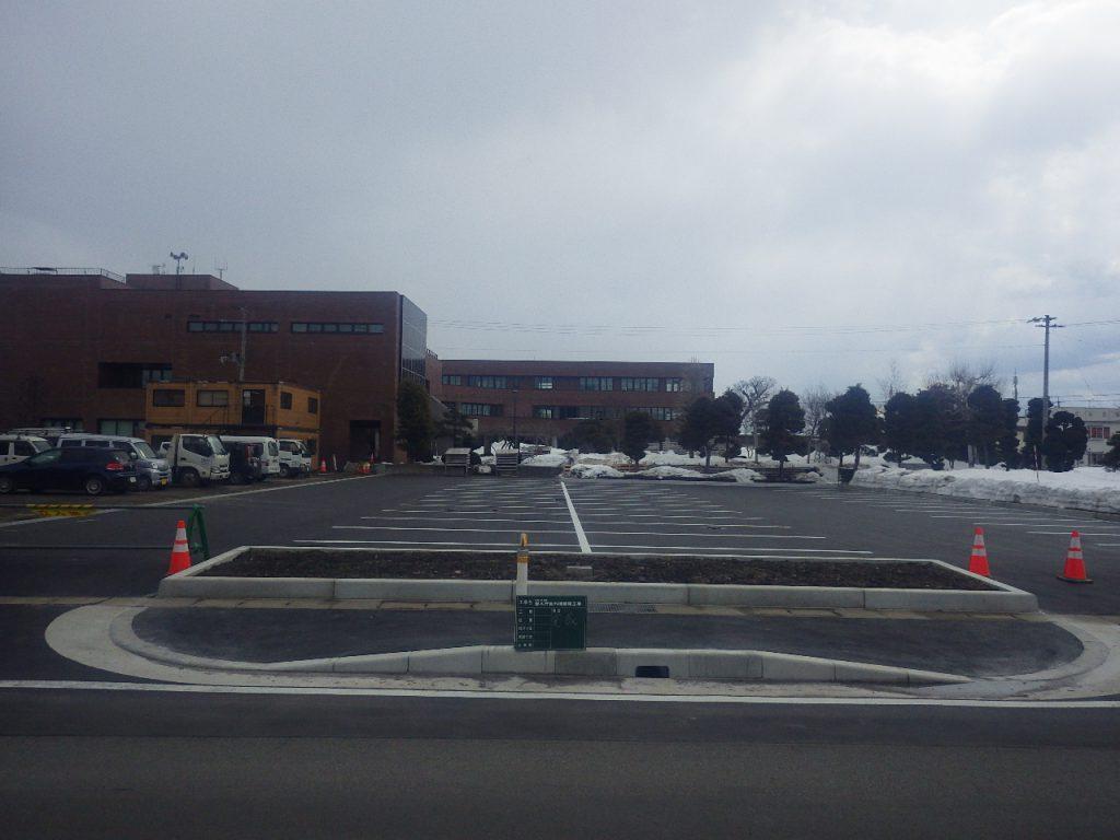 岩木庁舎外構整備工事