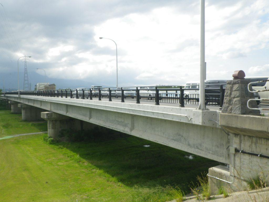 城北大橋橋梁補修工事